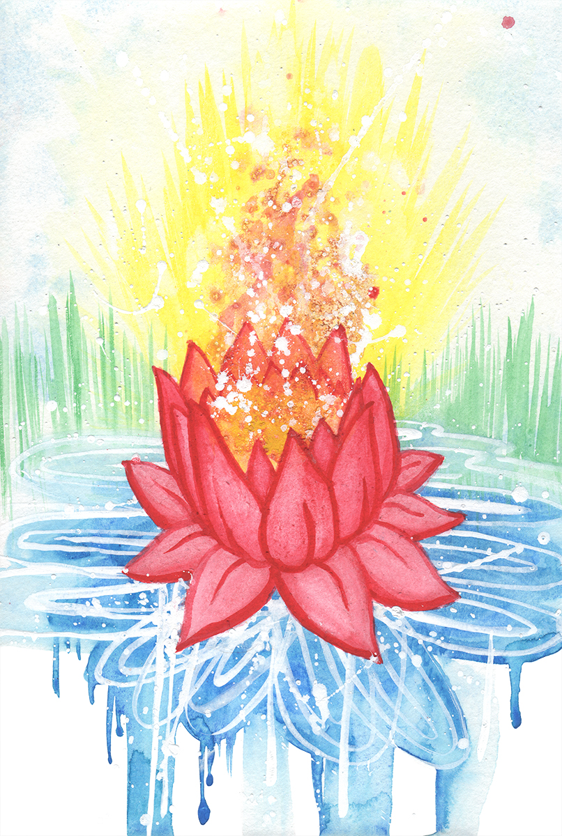 Lotus (watercolor)