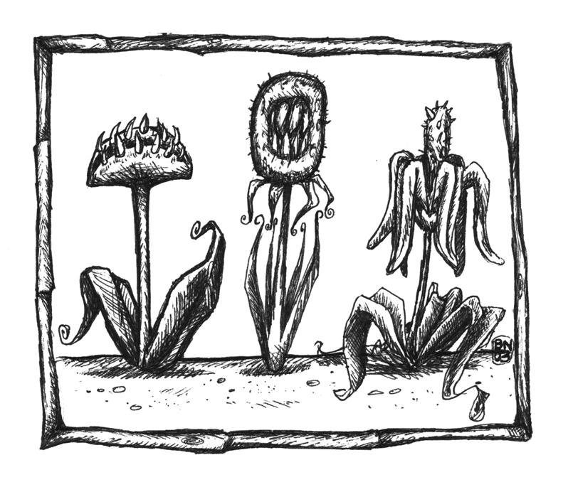 monster flowers