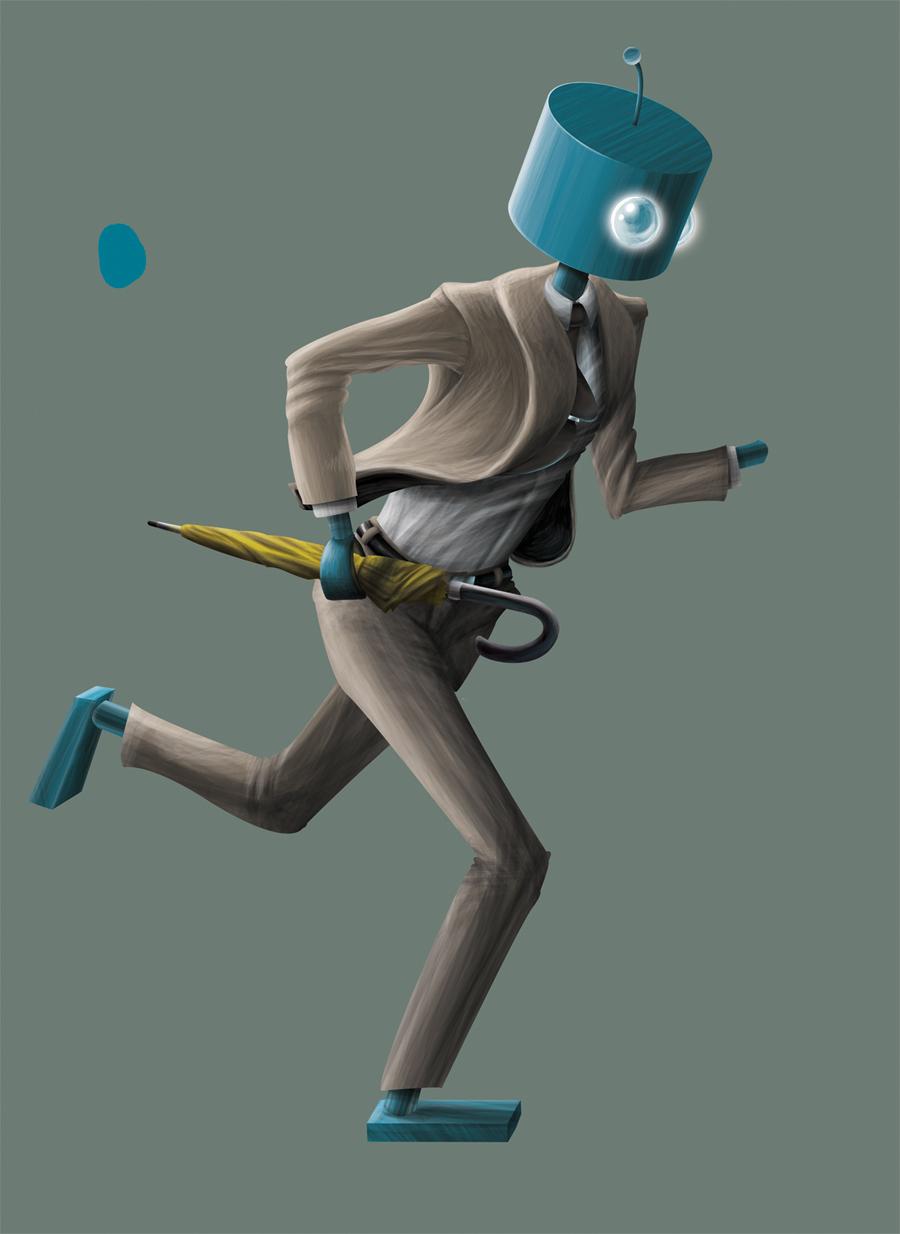 Umbrella-Bot