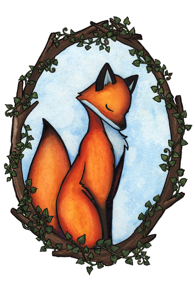 Fox_and_ivy
